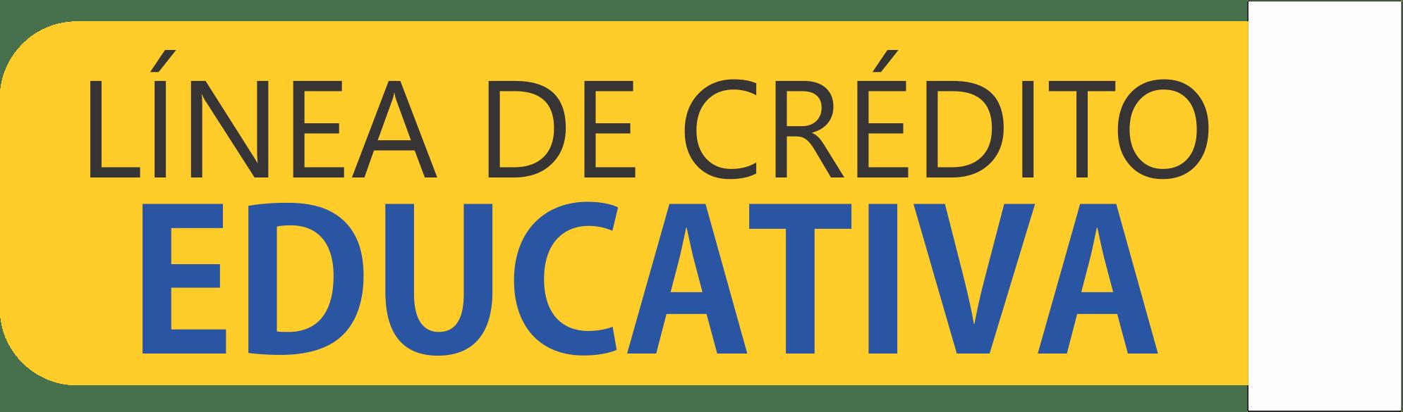 banner línea de crédito educativa