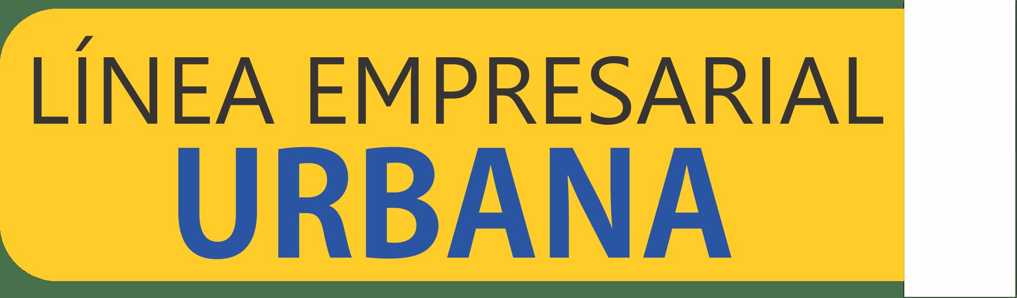 banner línea empresarial urbana