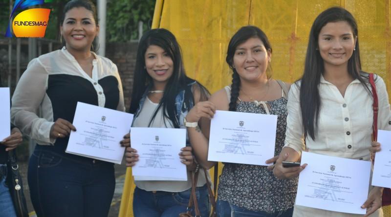 Mujeres certificadas