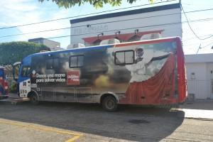 Unidad móvil Higuera Escalante en nuestra sede principal