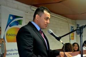 Gerson Jahir Silva Cadena-Coordinador del Instituto Fundesmag