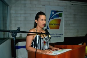 Judith Zapata Viloria-Maestra de Ceremonia