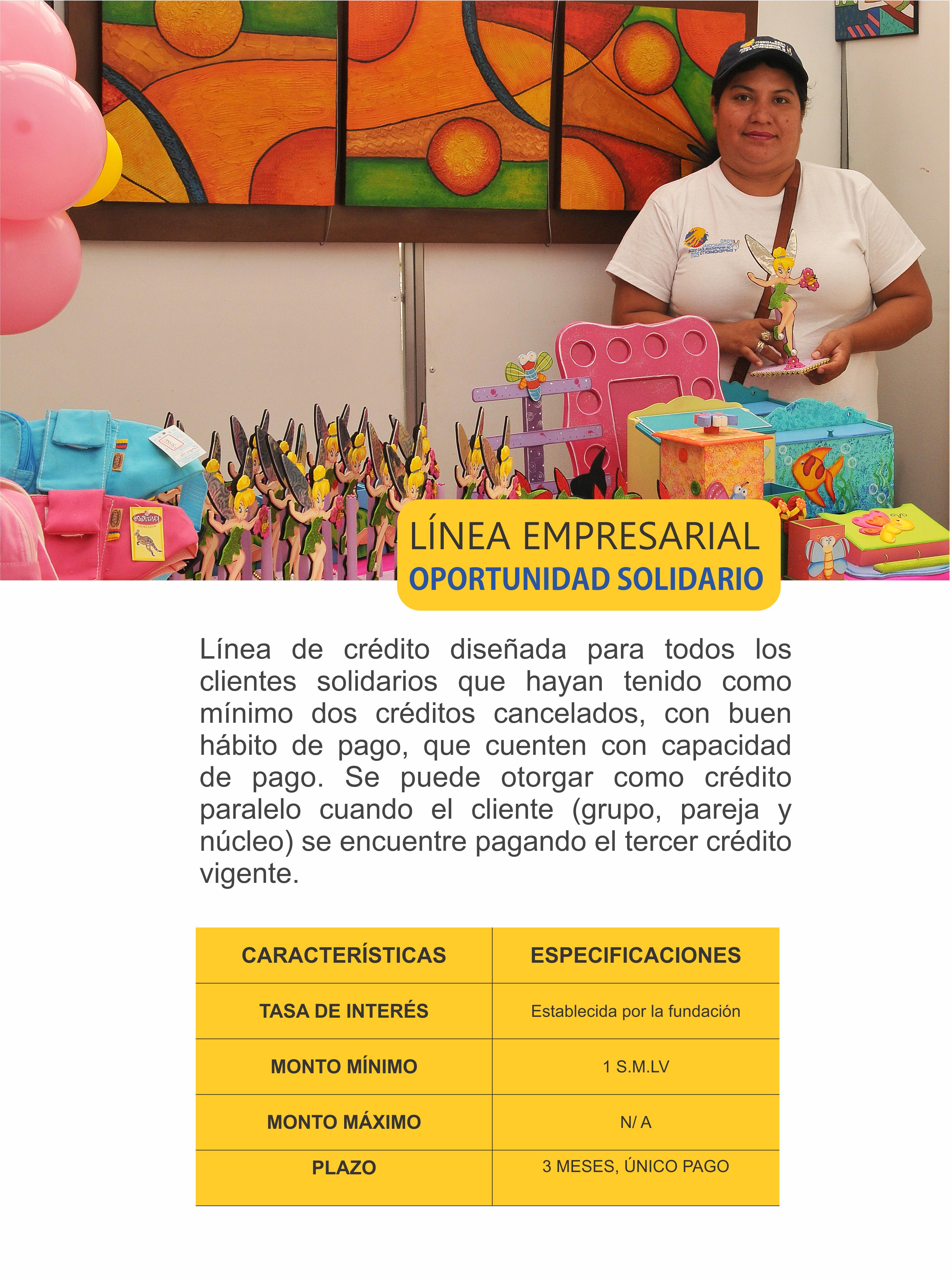 OPORTUNIDAD LÍNEA EMPRESARIAL