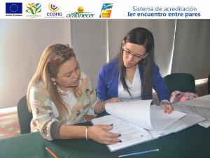 Milena Ossa-Laura Santamaría Representantes de Fundesan