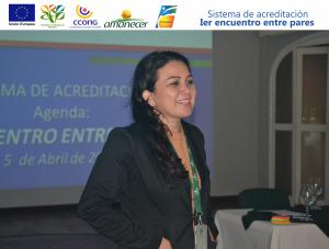 Diana Carolina Rodriguez-Representante Fundación Amanecer