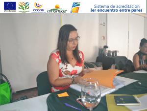 Sol angel Rodriguez-Representante de Fundación Paso a paso