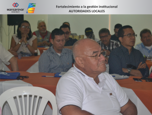 AUTORIDADES LOCALES DE BARRANCABERMEJA SE CAPACITAN EN ORDENAMIENTO TERRITORIAL