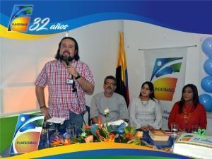Palabras de l Dr. Adrián Rodríguez G. -Subdirector del Centro Industrial y del Desarrollo Tecnológico del SENA