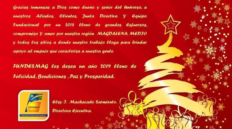 """""""Feliz Navidad y Prospero 2019"""""""