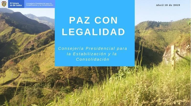 PAZ CON LEGALIDAD